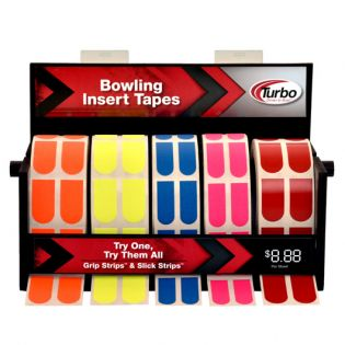 BOWLING INSERT TAPE DISPENSER (INCLUDING 5 ROLLS)