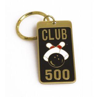 Brass Key Ring 500 Award