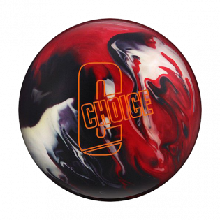 EBONITE CHOICE BLACK/RED/WHITE