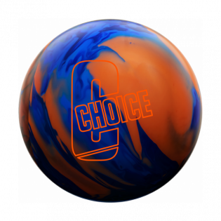 EBONITE CHOICE SOLID - BLUE/DARK BLUE/ORANGE