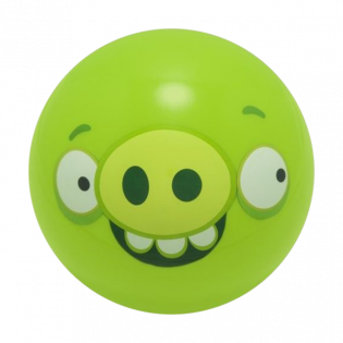 ANGRY GREEN PIG