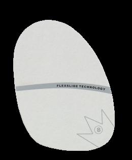 Brunswick SP-8 White Microfiber Replacement Slide Sole