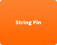 String Pin Machine Parts